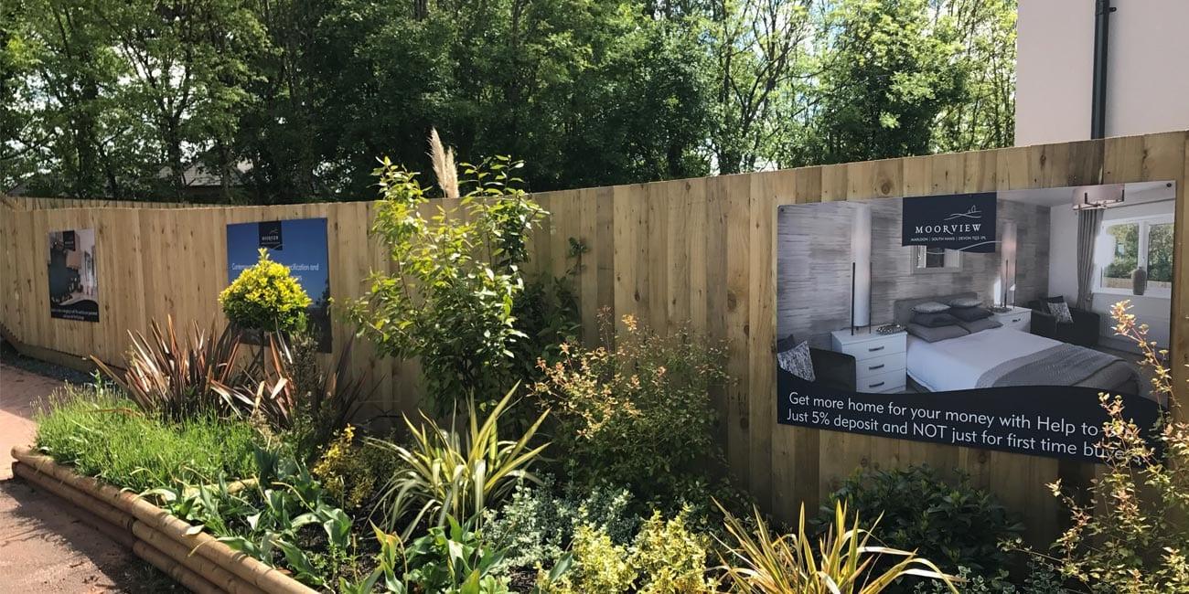 Moorview In Marldon Gk Signs