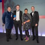 Chris Rundle Won The Young Entrepreneur of the Year award at the Natwest Great British Entrepreneur Awards
